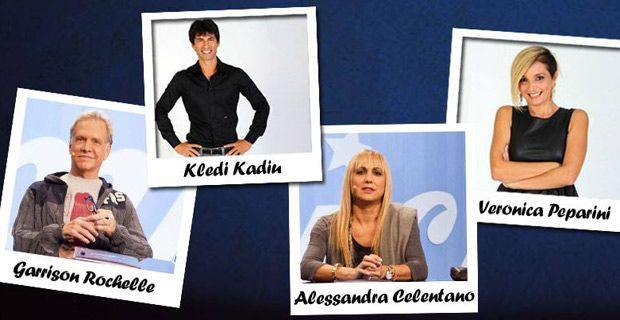 Kledi Kadiu professore di ballo con Garrison,  Alessandra Celentano e Veronica Peparini.  Amici 13